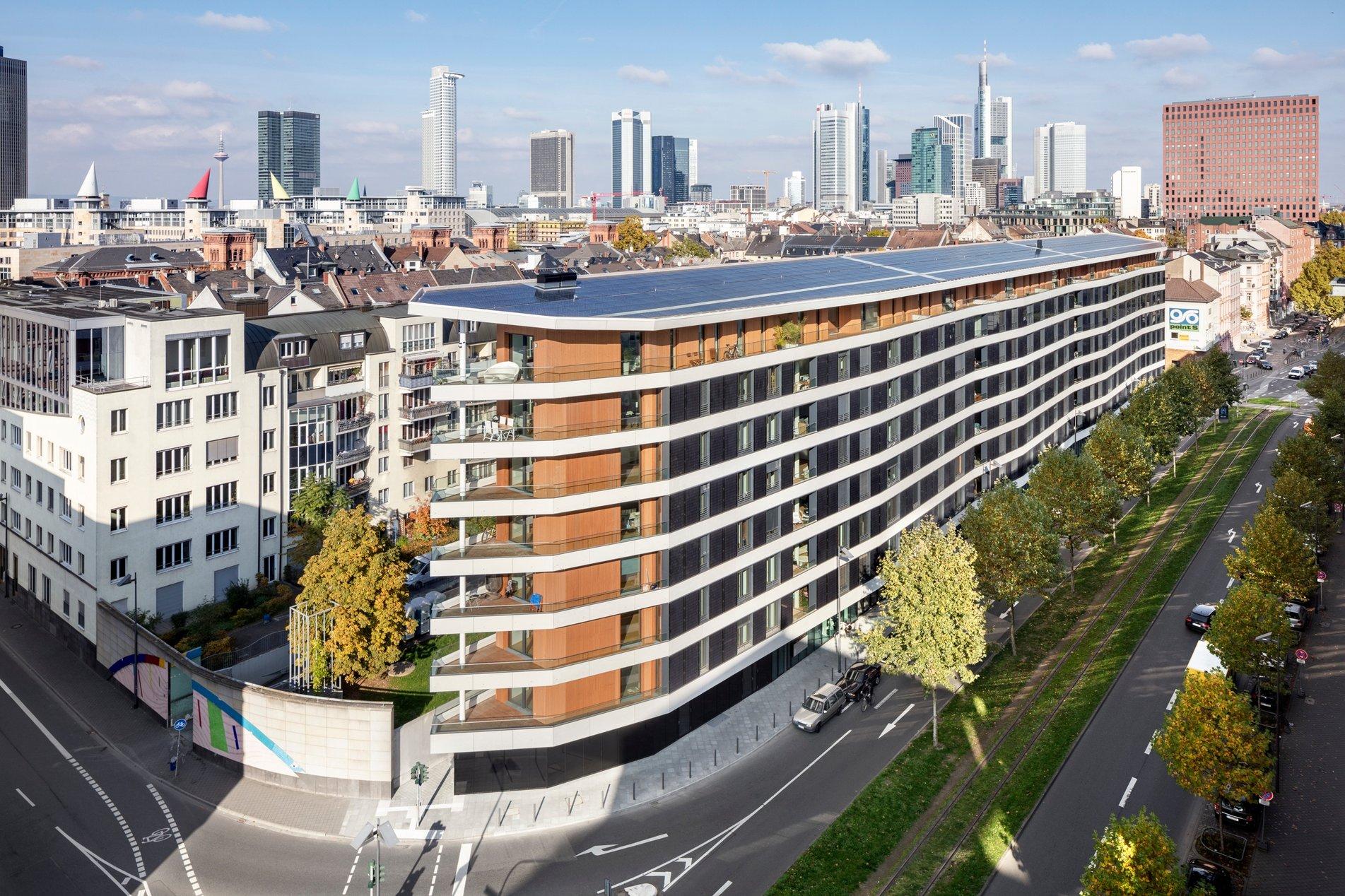 Plusenergie Wohngebäude