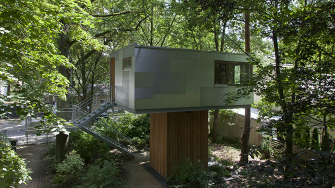 Urban Treehouse Berlin Baumhaus Architektur