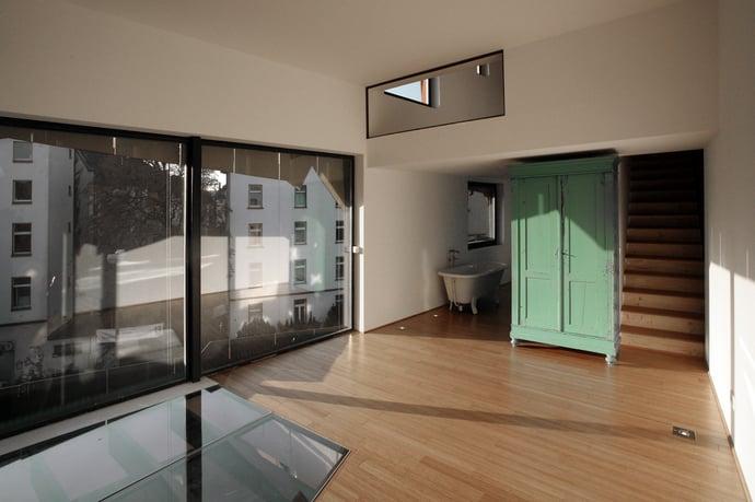 Kreative Häuser für schmale Baulücken