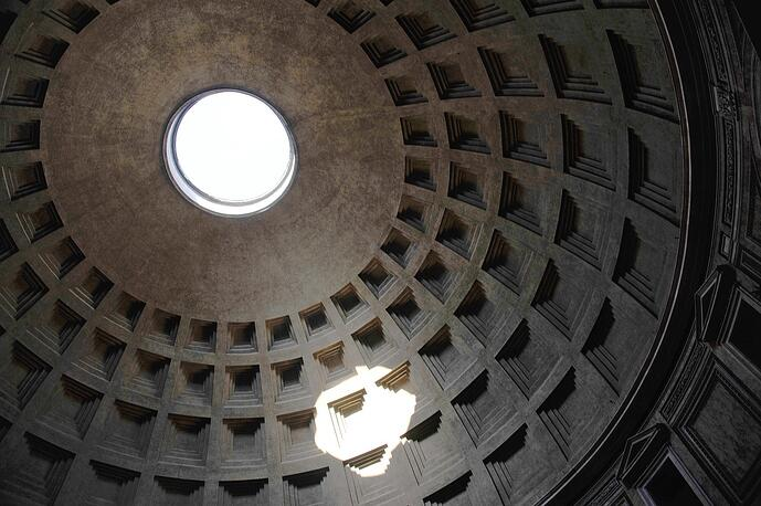 Das Pantheon in Rom