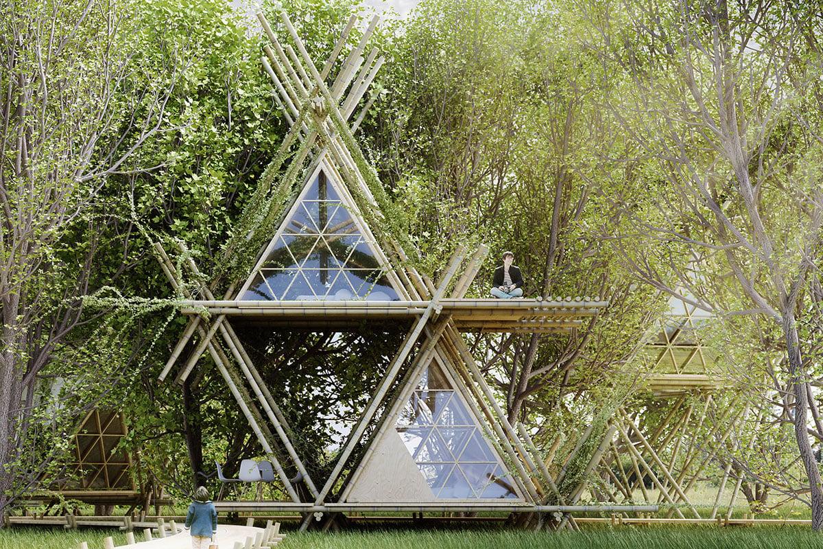 Naturhaus Bambus