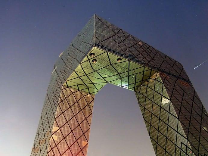 CCTV Tower in Beijing
