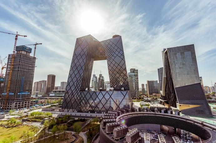 CCTV-Tower in Peking