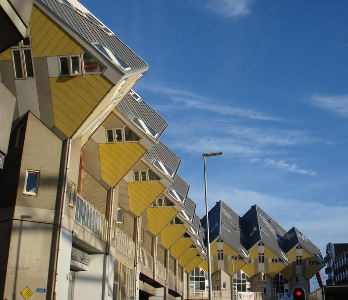 Cube Houses in Rotterdam