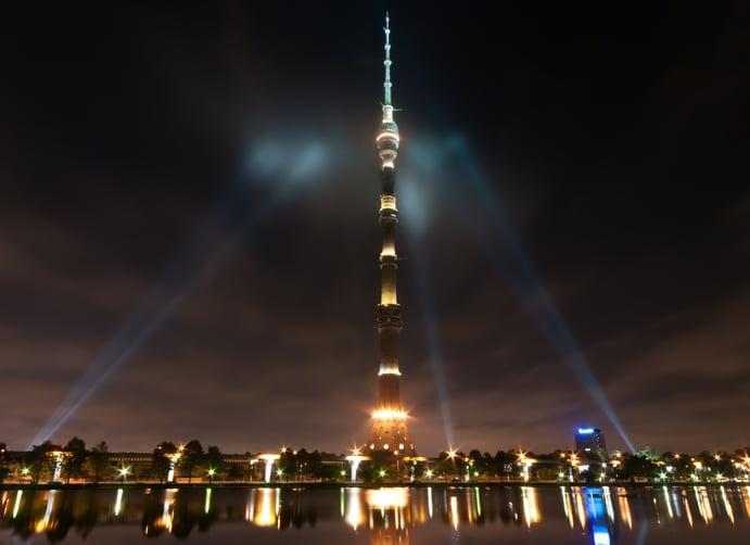 Ostankino-Turm, Russland