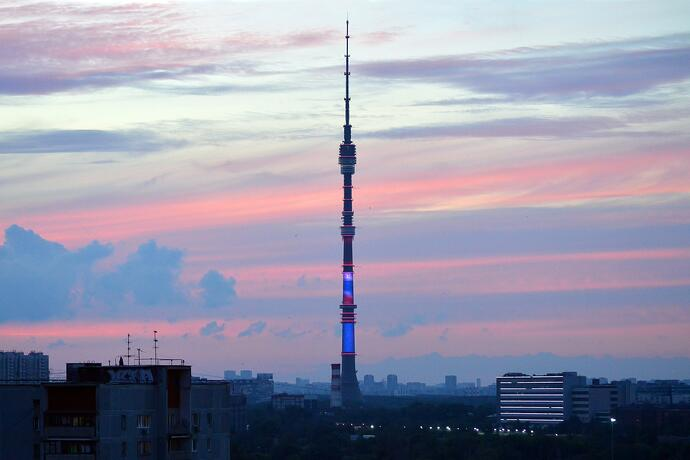 Ostankino Tower, Russia