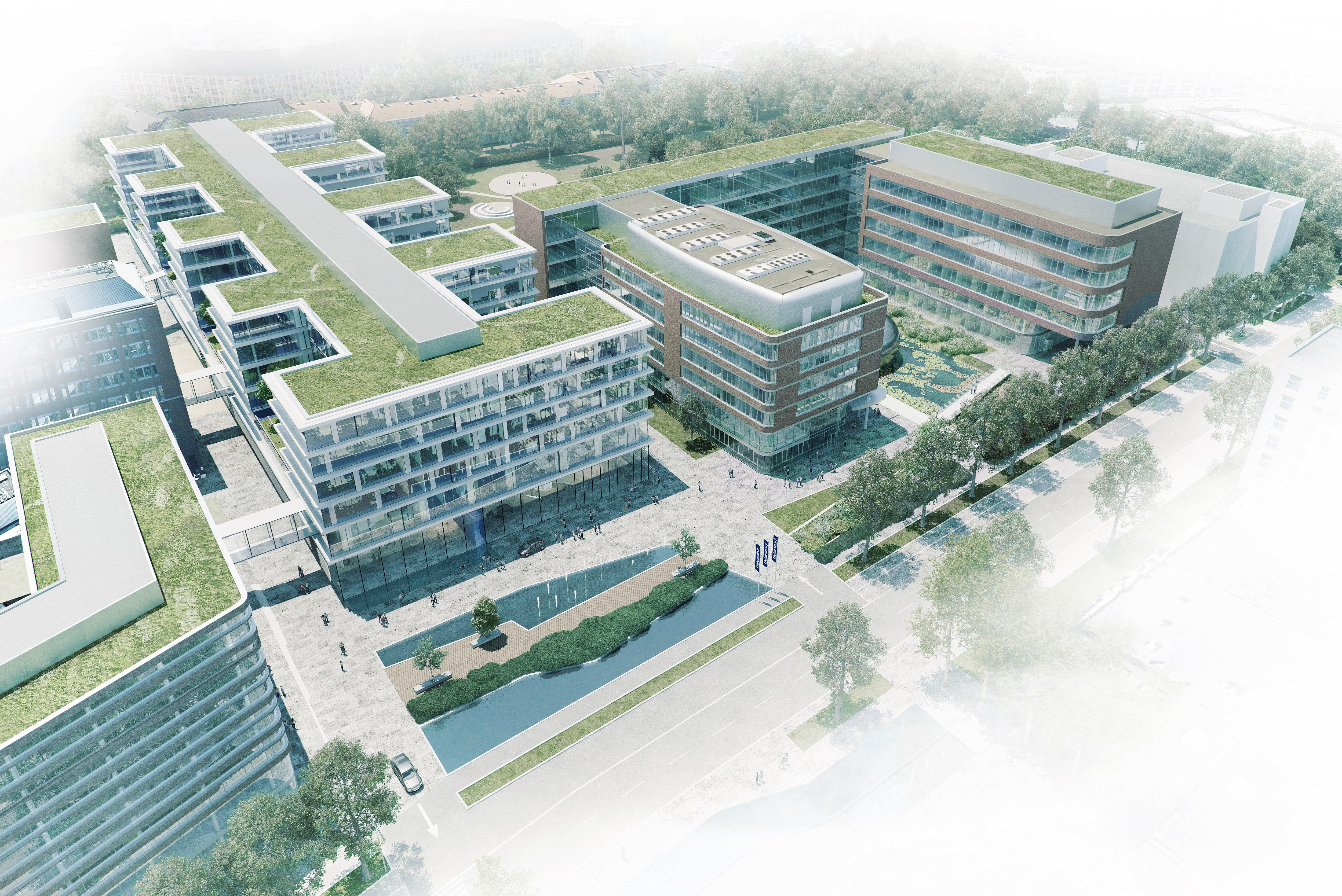 Headquarter Beiersdorf in Hamburg