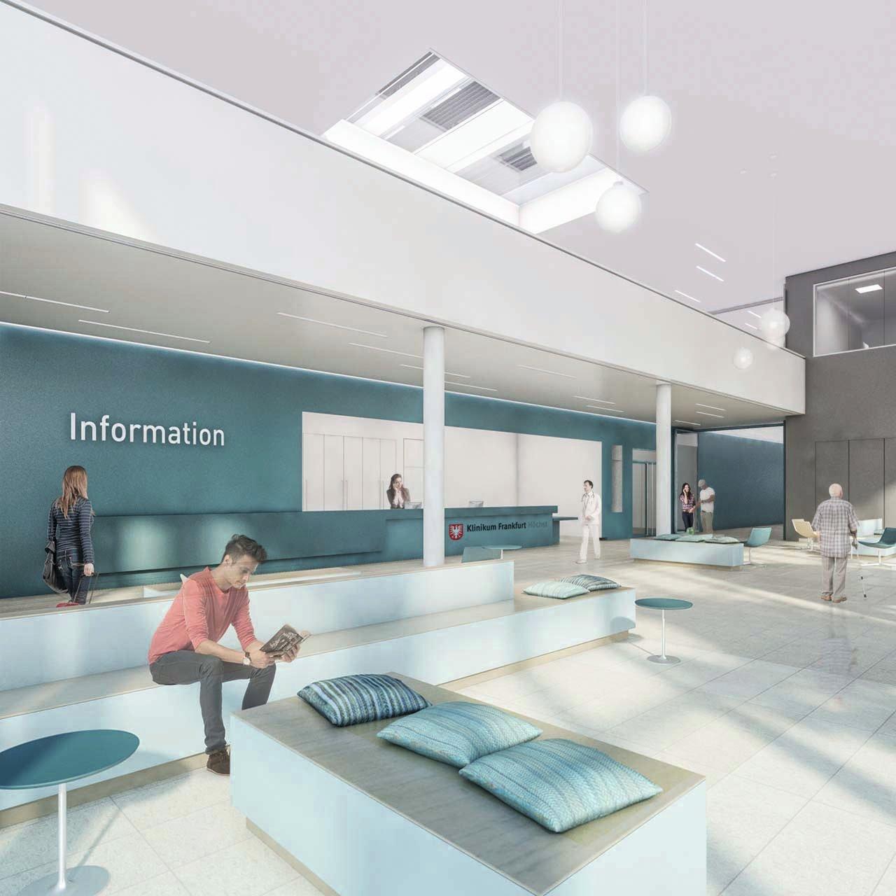 Visualisation Medical Center Frankfurt-Höchst