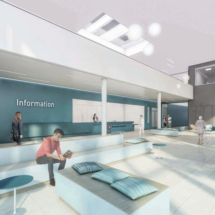 Visualisierung Klinikum Frankfurt Höchst