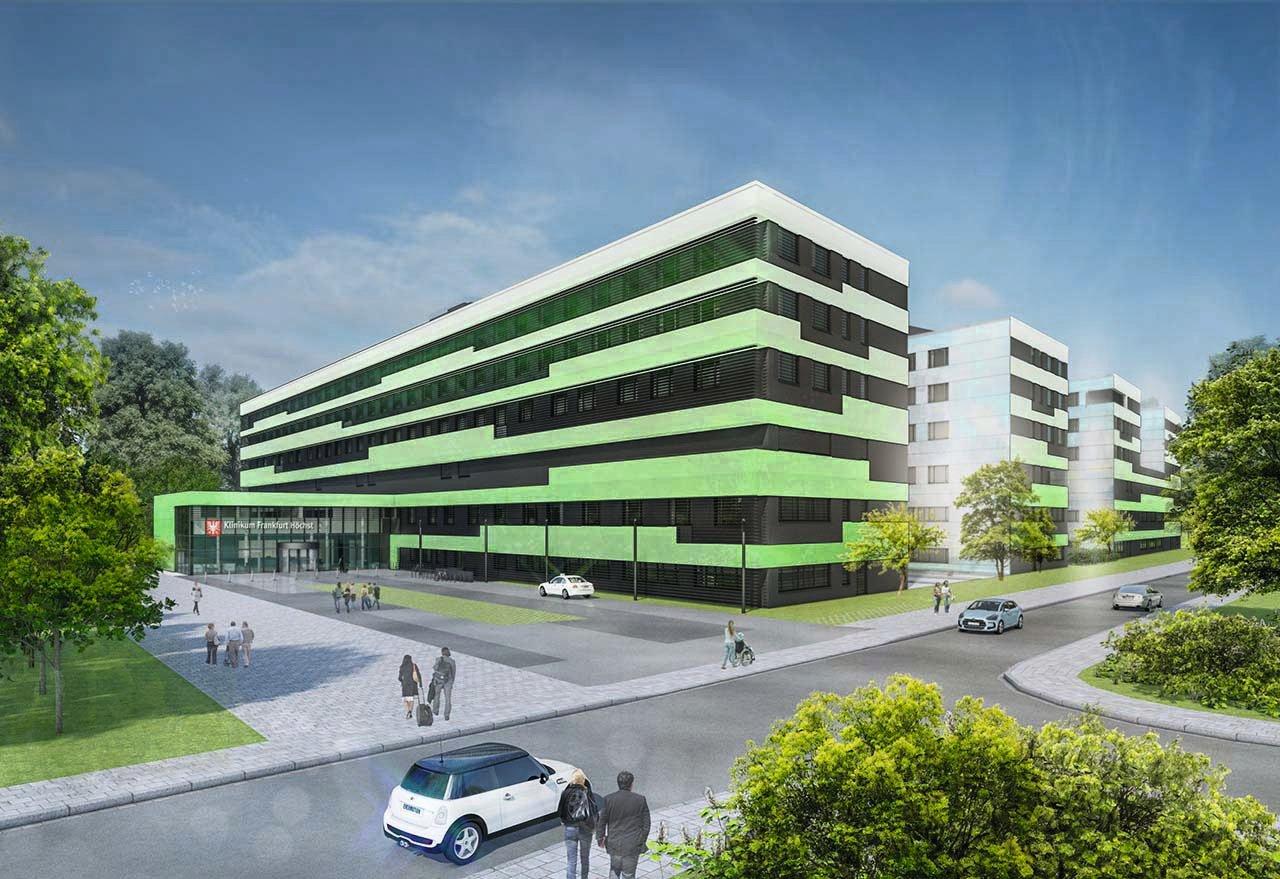 Medical center Frankfurt Höchst, Visualisation