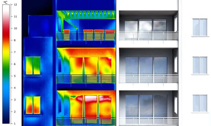 Wärmehaushalt Gebäude