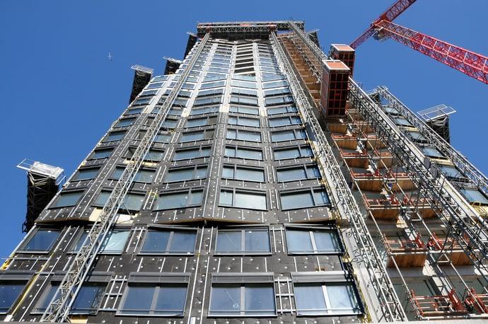 Fassade Limmat Tower