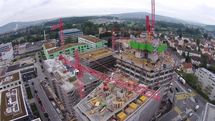 Baustelle Limmat Tower