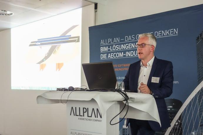 Kai Lakeberg über das effiziente und BIM-konforme Modellieren mit Allplan Engineering