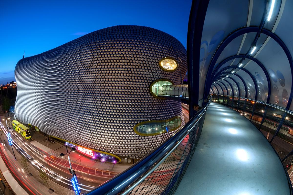 """Blob"" Selfridges in Birmingham"