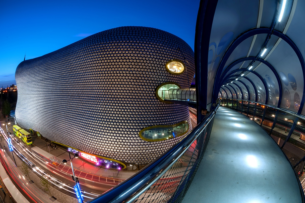 """Blob"" Selfridges in Birmingham"