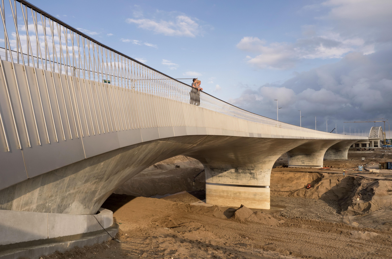 Waal Bridge in Nimwegen