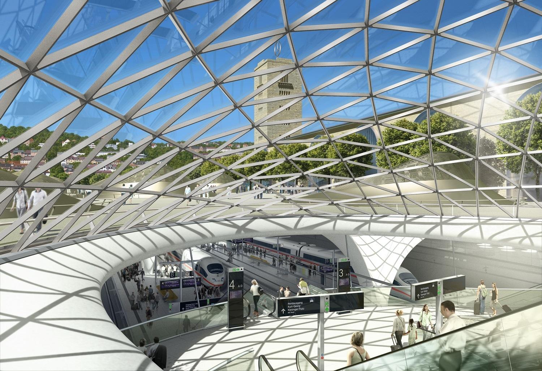 Neuer Durchgangsbahnhof Stuttgart