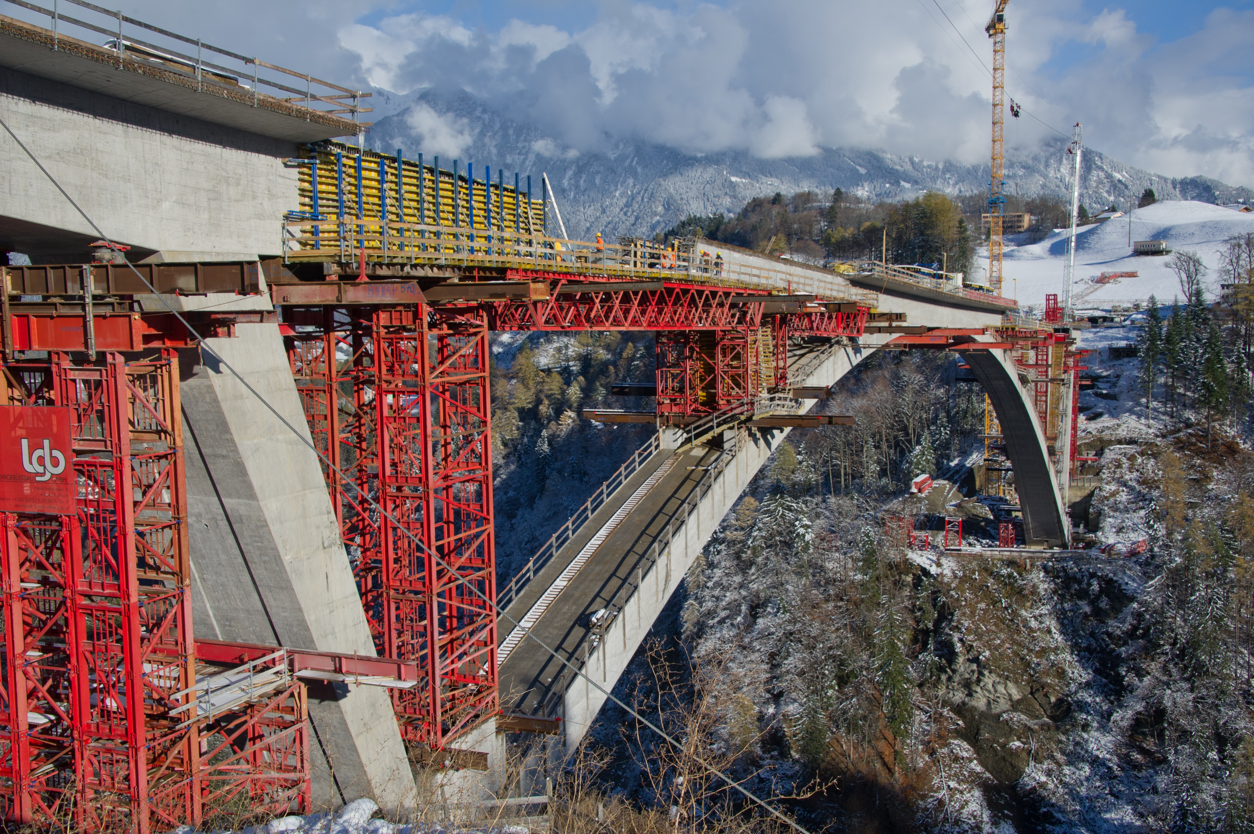 Im vierten Quartal 2015 steht die Seite Valens kurz vor der Fertigstellung.