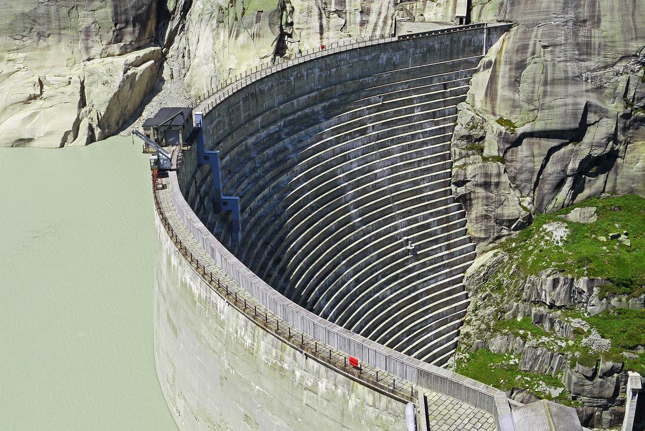 Staudamm Grimselsee, Schweiz