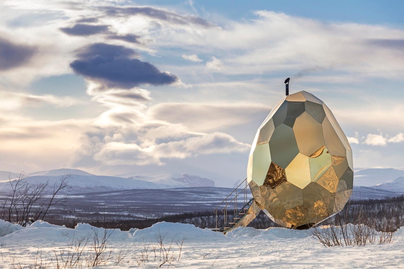 Solar-Egg in Kiruna