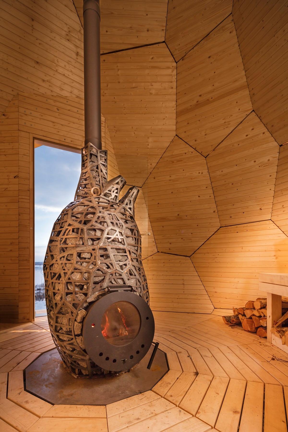 Solar-Egg Innenraum