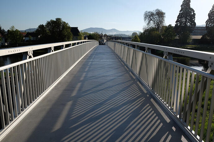 Schillerbrücke aus Aluminium, Gaggenau