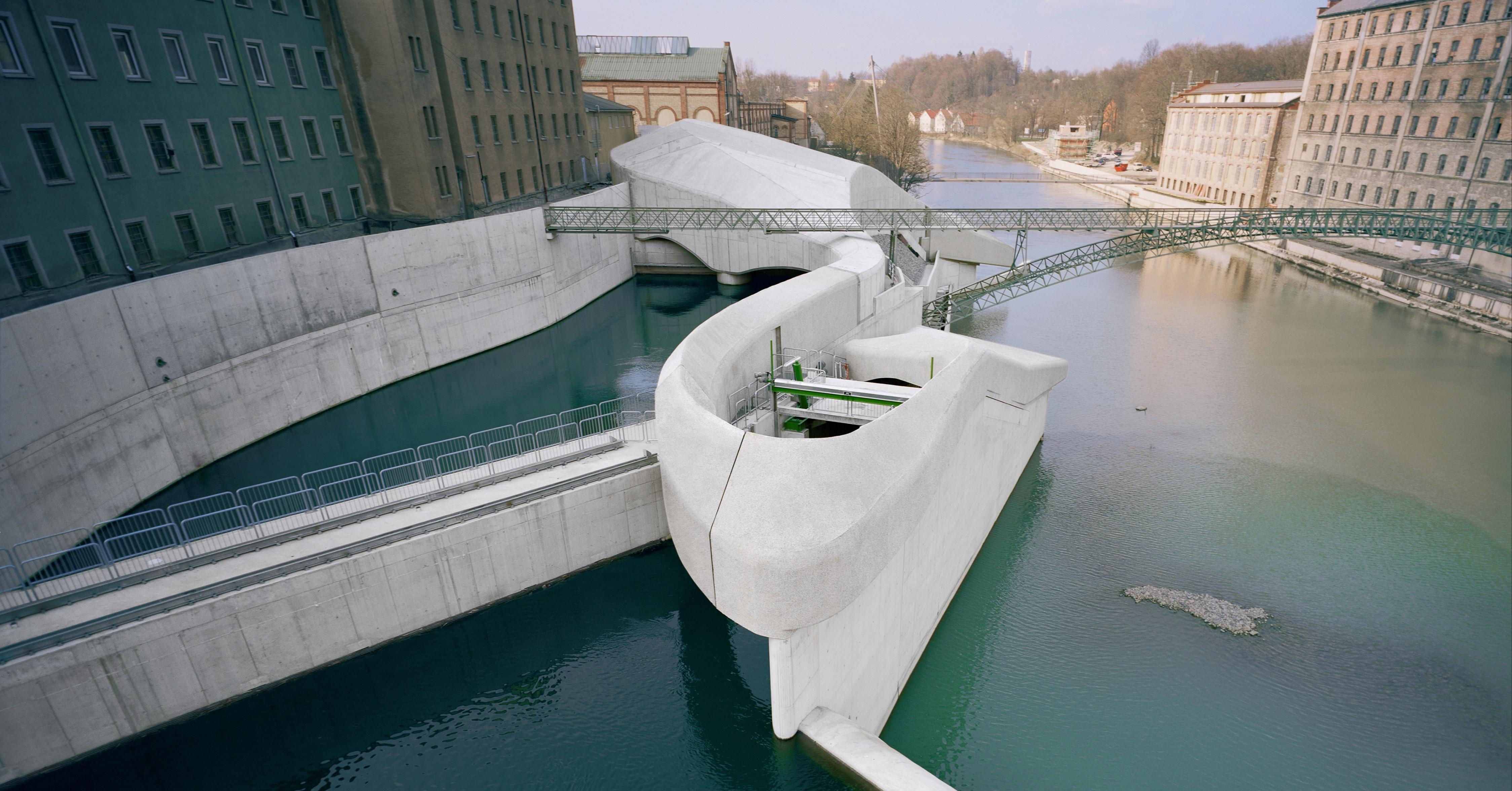 Wasserkraftwerk Kempten-3