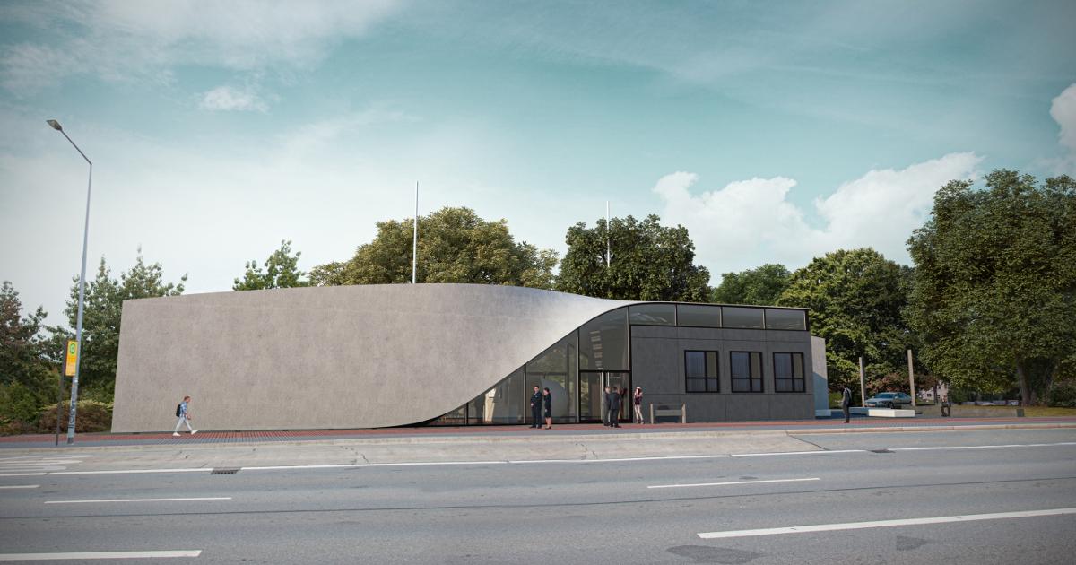Erstes Haus aus Carbonbeton: CUBE