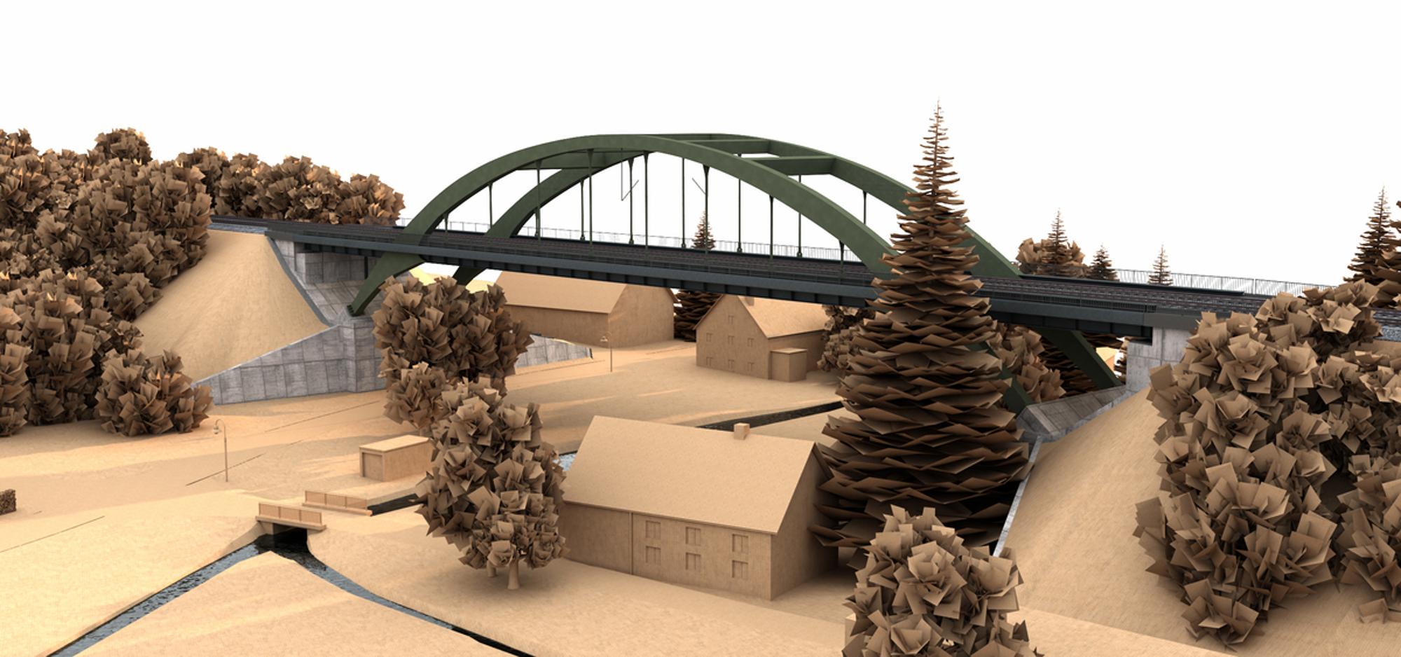 Digitaler Zwilling für bahnbrechende Brücke mit Allplan Bridge