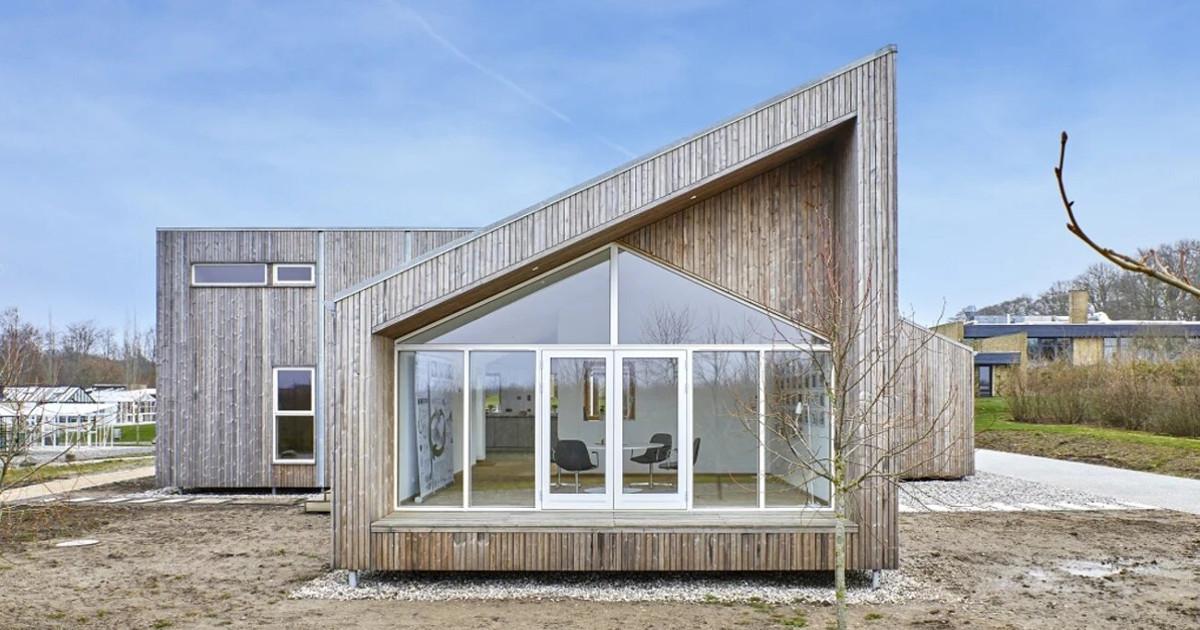 Dánský upcyklační dům – Det Biologiske Hus