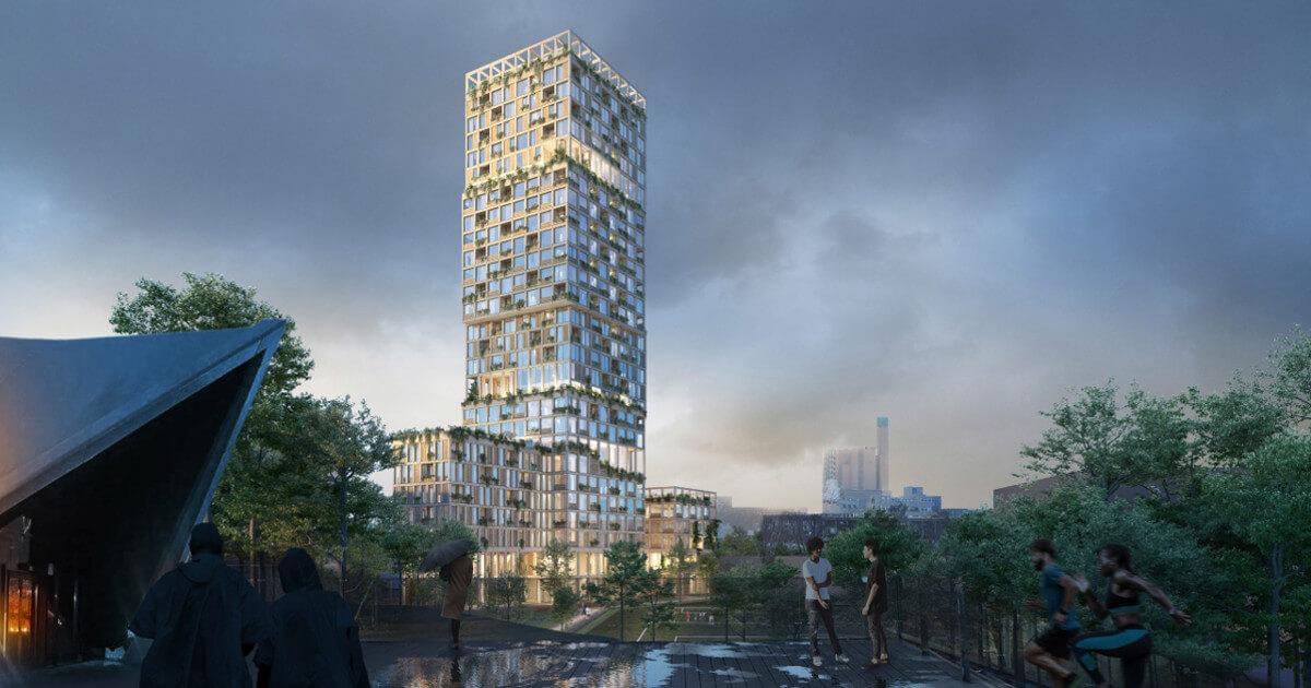 3 neue Holzhochhäuser in Deutschland