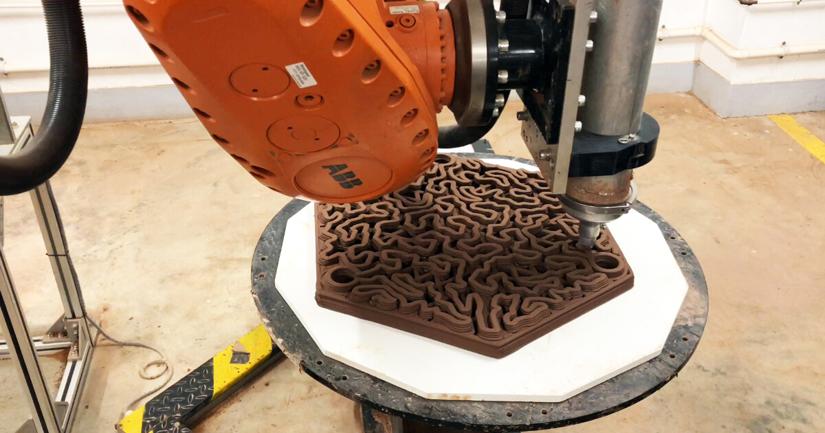 3D-printed clay bricks: a new home for corals