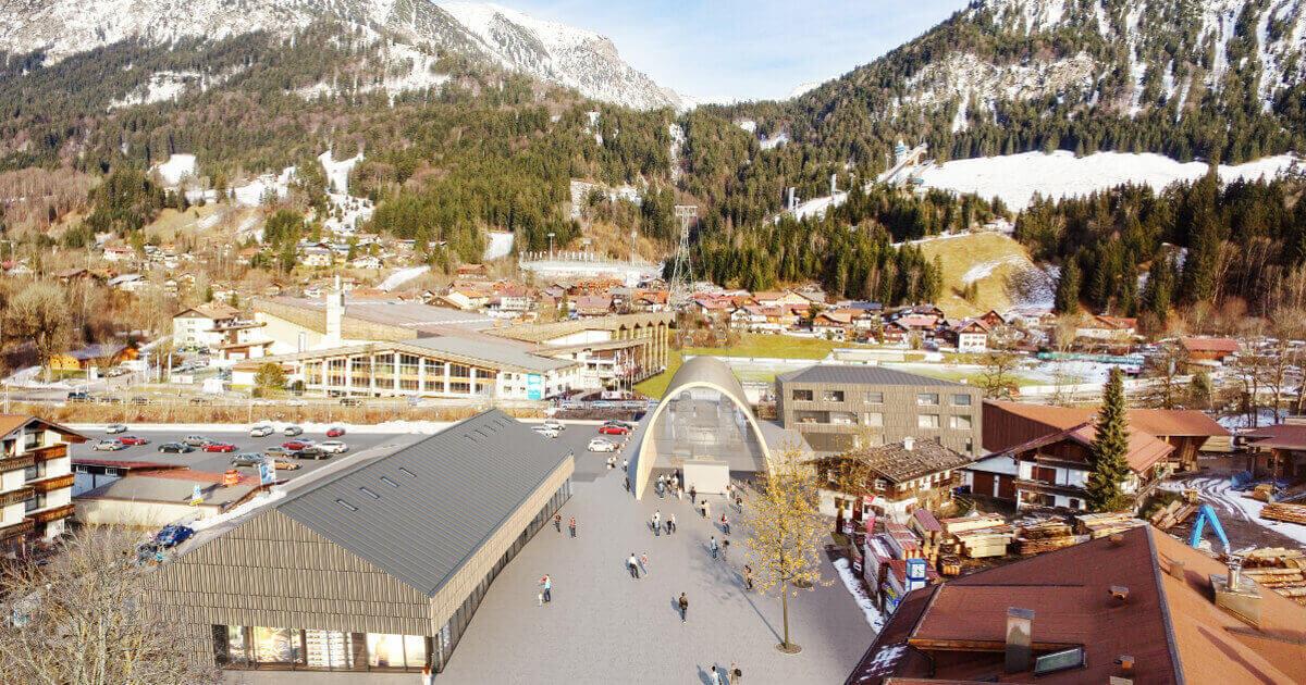 Ansprechende Architektur für alpine Infrastruktur