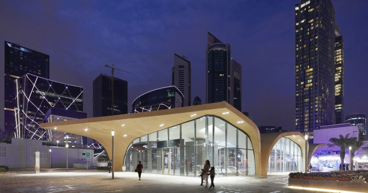 Doha Metro Network: Wer will da noch Auto fahren?