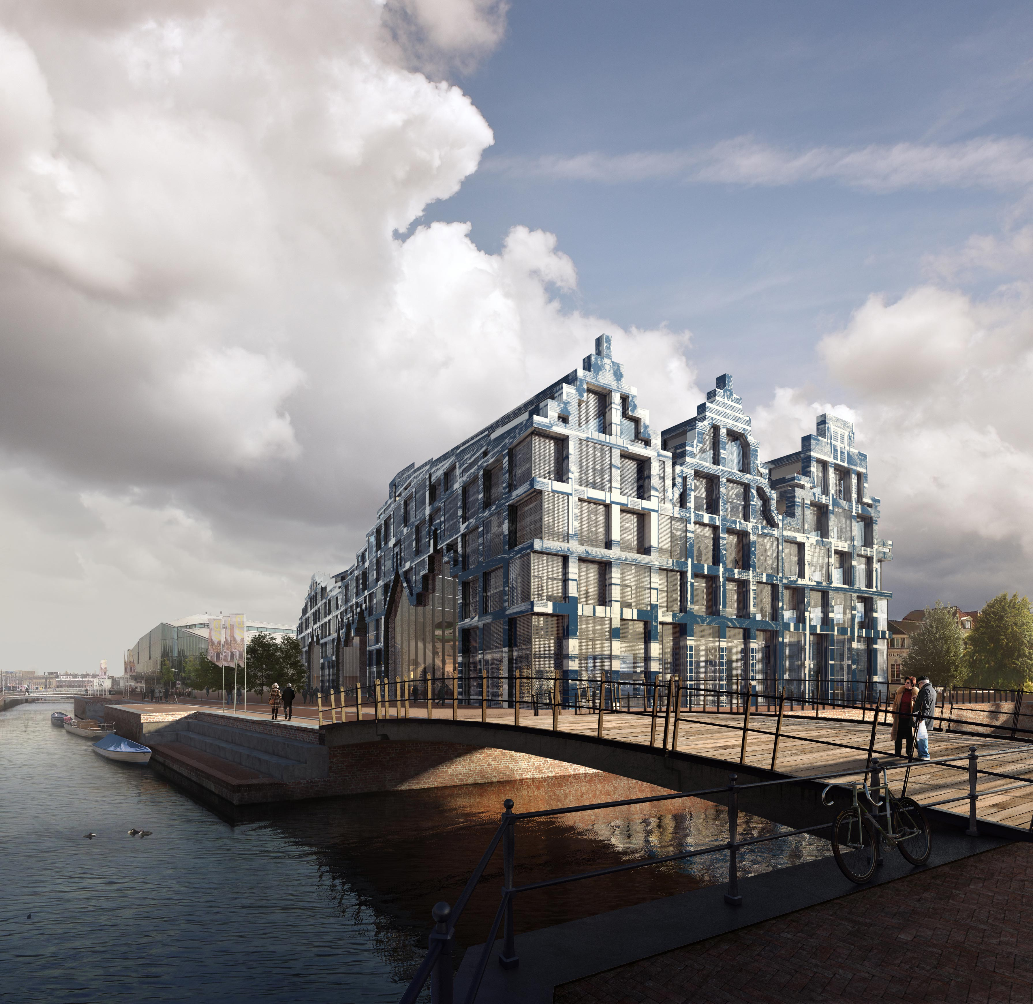 """Wenn Bauwerke Geschichte verkörpern - """"Historischer"""" Neubau: House of Delft"""