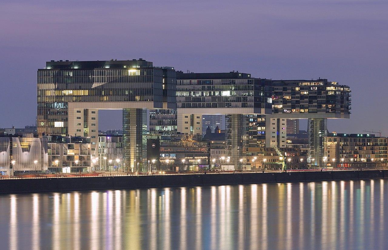 Rheinauhafen Köln Wohnen Und Arbeiten In Architektur Ikonen