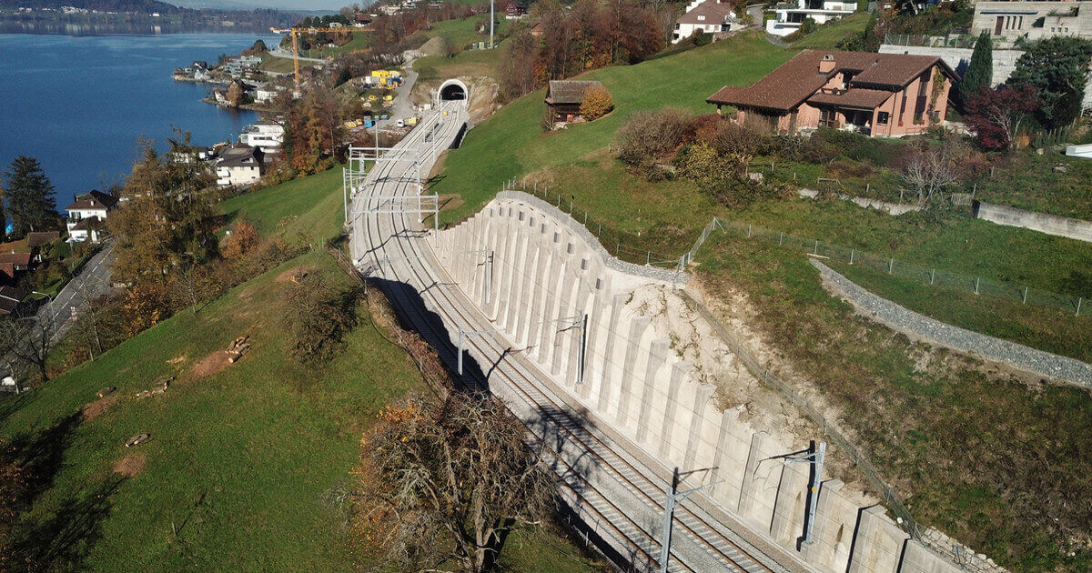 Lake Zug East: Switzerland's Longest Construction Site Completed
