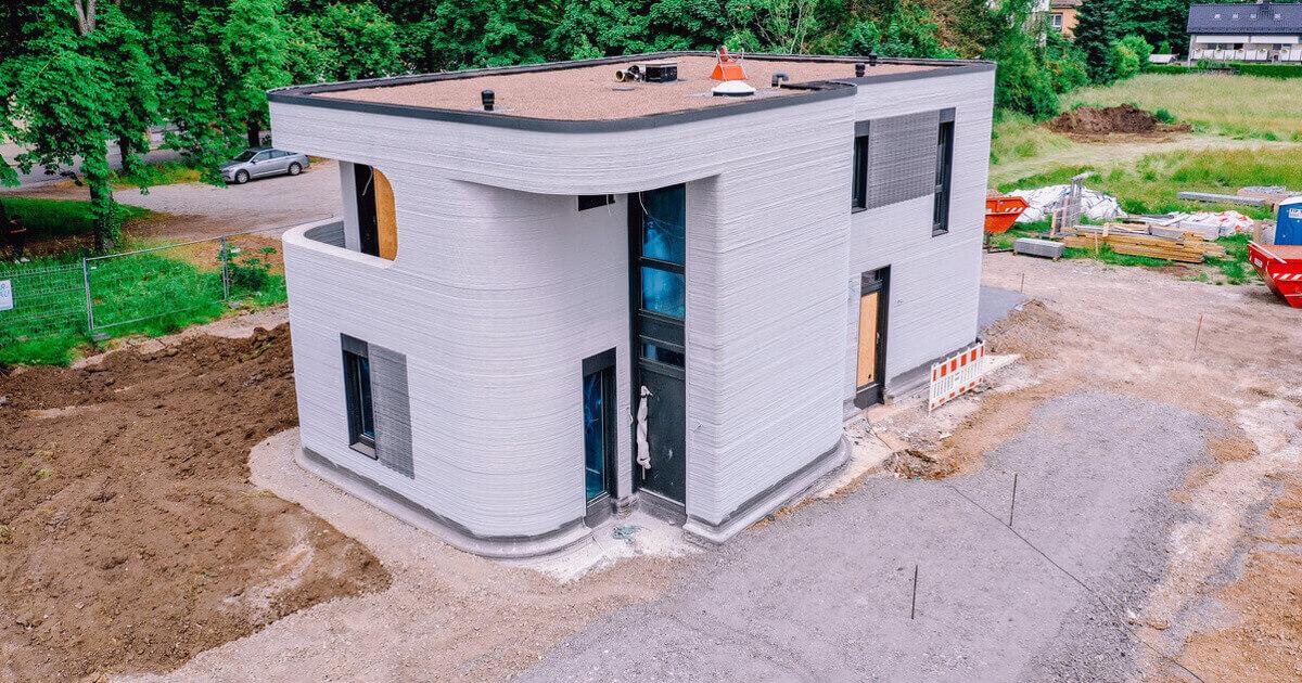 Deutschlands erstes 3D-gedrucktes Haus ist fertig!