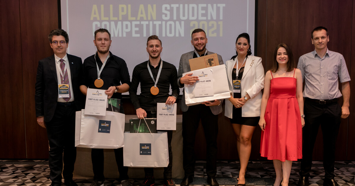 Training Future Talent at the Allplan Student Competition 2021